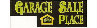 GarageSalePlace