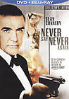 Never Say Never Again (Blu-ray/DVD, 2010, 2-Disc Set, DVD/Blu-ray)