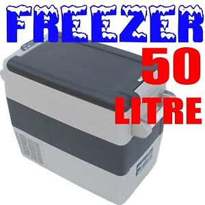 50L Car Fridge Freezer CF-50 AC 12v 24v Portable