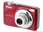 Nikon COOLPIX L22 12.0 MP Digital Camera - Red