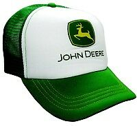 John-Deere-Green-and-White-Trucker-Cap