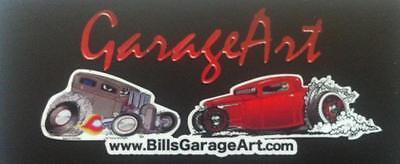 Bill's Garage Art