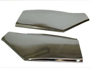 Goldwing GL1500 Pair Chrome Side Covers with Grommets ! (45-8731)