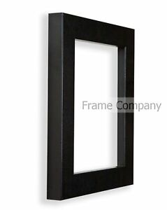 Frame-Company-Large-A1-Picture-Poster-Frames-Black-White-Beech-Brown