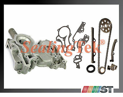 83-84 Toyota 22r Engine Timing Chain Kit W/ Cover Combo Car Truck Part Component