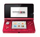 Nintendo 3DS Metallic Red Handheld-Spielkonsole (PAL)
