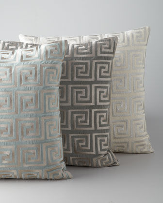 Italian Metallic Throw Pillows