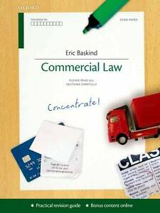 COMMERCIAL LAW: CONCENTRATE., Baskind, Eric., Used; Very Good Book