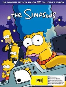The Simpsons : Season 7 (DVD, 2006, 4-Di...