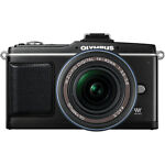 Olympus PEN E-P2 12.3 MP Digital Camera - Black (Kit w/ 14-42mm Lens)