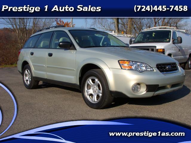 2007 Subaru Outback All Wheel Drive 5 Speed Great Mpg Nice Car No Reserve Used Subaru