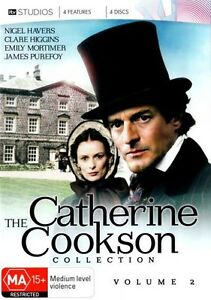 Catherine Cookson Collection Volume  2, 4xDVDs Region 4 New/Sealed Free Postage
