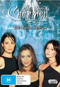 Charmed : Season 3 (DVD, 2005, 6-Disc Set) TV Series, Very Good Condition
