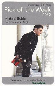 STARBUCKS UK 2011/12 iTunes FREE BOOK/MUSIC/VIDEO Cards