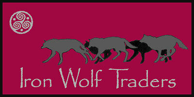 Iron Wolf Traders cast iron decor