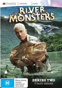 River Monsters SERIES Season 2 : NEW DVD