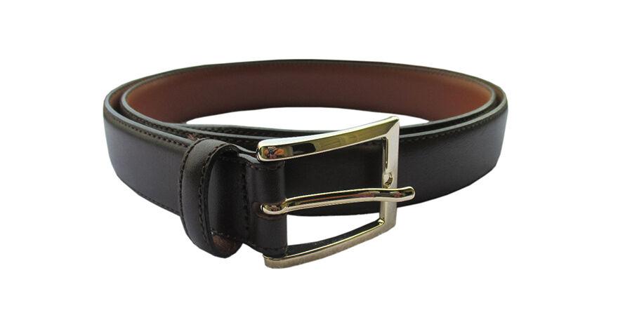 Brooks Brothers Brown Italian Leather Belt