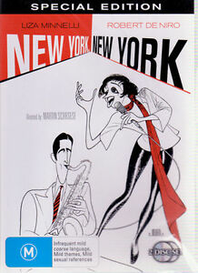 DVD-New-York-New-York-R4-2007-Liza-Minnelli-Robert-De-Niro-by-Martin-Scorses