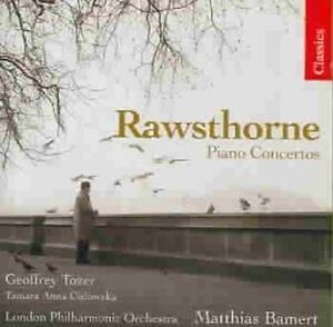 Alan Rawsthorne -  Piano Concertos (Tozer/Bamert) (CD 2007) Chandos New & Sealed