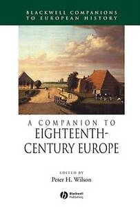 A Companion to Eighteenth-Century Europe by