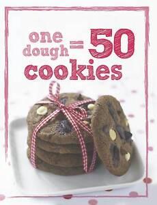 1 Dough 50 Cookies by Parragon Book Service Ltd (Hardback, 2012)