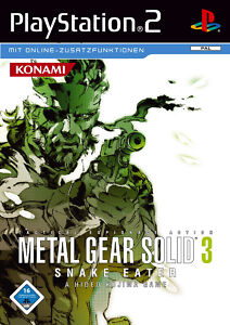 Metal Gear Solid 3 - Snake Eater (Sony PlayStation 2, 2005, DVD-Box) - Hannover, Deutschland - Metal Gear Solid 3 - Snake Eater (Sony PlayStation 2, 2005, DVD-Box) - Hannover, Deutschland