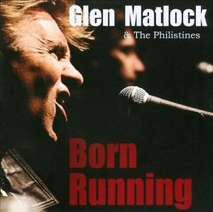 CD - Glen Matlock : Born Running CD (2010) PISTOLS
