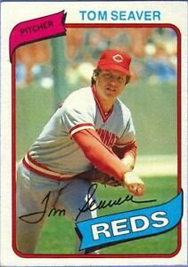 1980 Topps Tom Seaver Cincinnati Reds 500 Baseball Card