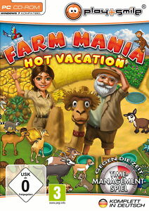 PC-Spiel Farm Mania , Hot Vacation, Neu, Original verpackt , Top! - <span itemprop=availableAtOrFrom>Coburg, Deutschland</span> - PC-Spiel Farm Mania , Hot Vacation, Neu, Original verpackt , Top! - Coburg, Deutschland