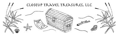 Closeup Travel Treasures