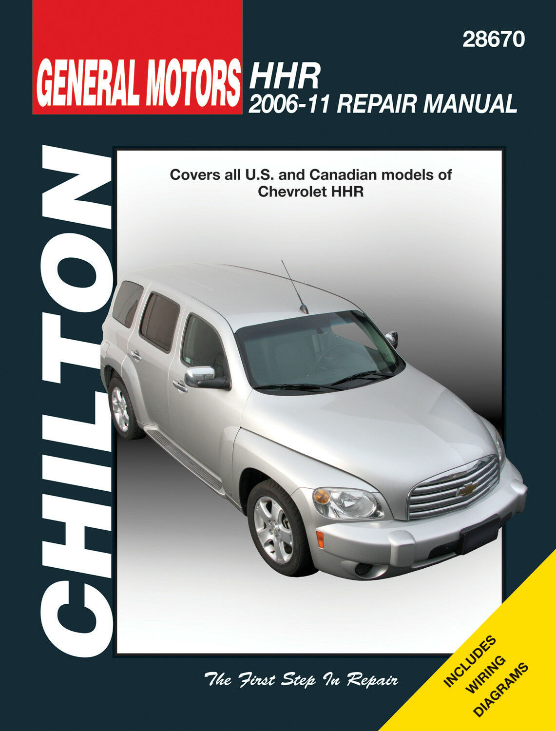 Repair Manual Chilton 28670 Fits 06 11 Chevrolet Hhr Ebay Chevy Tail Light Wiring Diagram Stock Photo