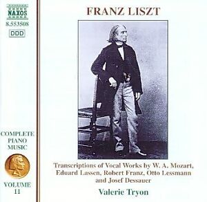 Liszt  Complete Piano Music Vol11 Transcriptions of Vocal Works Mozart etc - <span itemprop='availableAtOrFrom'>East Kilbride, Glasgow (City of), United Kingdom</span> - Liszt  Complete Piano Music Vol11 Transcriptions of Vocal Works Mozart etc - East Kilbride, Glasgow (City of), United Kingdom