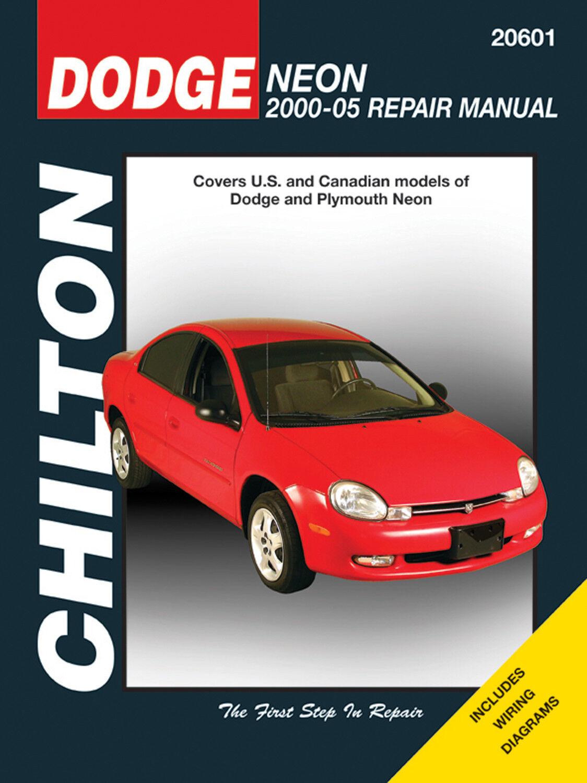 Stock photo. Stock photo; Chilton Repair Manual Dodge Neon ...