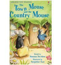 The-Town-Mouse-and-the-Country-Mouse-Level-4-by-Susanna-Davidson-Hardback