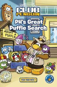 , Club Penguin Pick Your Path 7: PH's Great Puffle Search, Very Good Book