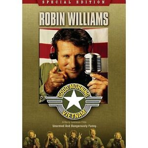 GOOD MORNING VIETNAM WIDESCREEN DVD MOVIE ROBIN WILLIAMS SPECIAL EDITION FREESHP