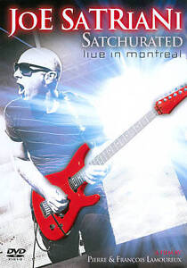 Joe Satriani Satchurated: Live In Montreal DVD