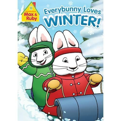 max ruby everybunny loves winter dvd 97368959644 ebay. Black Bedroom Furniture Sets. Home Design Ideas