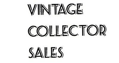 Vintage Collector Sales