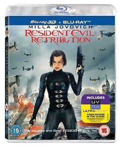 Resident Evil  Retribution 3D BluRay With Very Rare Slipcover - <span itemprop=availableAtOrFrom>wsm, Somerset, United Kingdom</span> - Resident Evil  Retribution 3D BluRay With Very Rare Slipcover - wsm, Somerset, United Kingdom