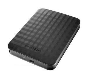 Samsung M3 Portable 1TB,External Hard drive,5400 RPM (HX-M101TCB/G)