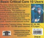 Basic Critical Care 10 Users, Farb, Daniel and Young, Caroline, 1594912017