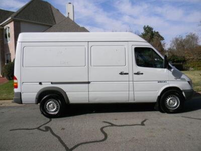 dodge sprinter 2500 hc 06 sprinter 2500 high roof cargo van 2 7l mercedes benz diesel for sale. Black Bedroom Furniture Sets. Home Design Ideas