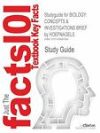 Outlines and Highlights for Biology : CONCEPTS and INVESTIGATIONS BRIEF by HOEFNAGELS, ISBN, Cram101 Textbook Reviews Staff, 1428882588