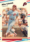 Fleer Mike Schmidt Philadelphia Phillies Baseball Cards
