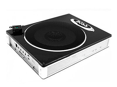 Boss BASS1200 10-Inch Low-Profile Amplified Subwoofer
