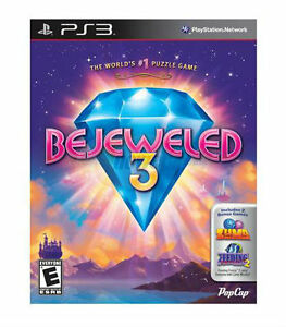 Bejeweled 3 (Sony PlayStation 3, 2011) `NEW`