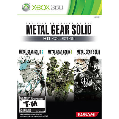 Metal Gear Solid: HD Collection Xbox 360 Game Complete!