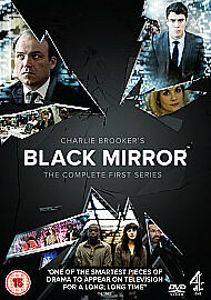 BLACK MIRROR COMPLETE SERIES 1 DVD CHARLIE BROOKER - pontefract, West Yorkshire, United Kingdom - BLACK MIRROR COMPLETE SERIES 1 DVD CHARLIE BROOKER - pontefract, West Yorkshire, United Kingdom
