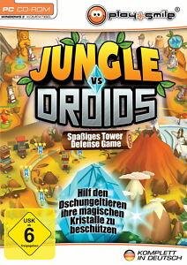 Jungle vs. Droids (PC, 2013, DVD-Box)    Neuware